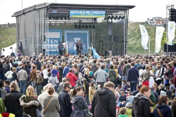 Duizenden Antwerpenaren vragen overkapping Ring