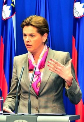 Sloveense premier stapt op