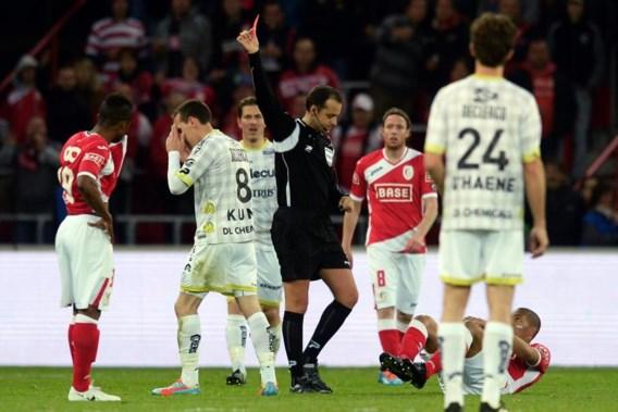 1.800 euro boetes en vijf speeldagen schorsing na Standard-Zulte Waregem