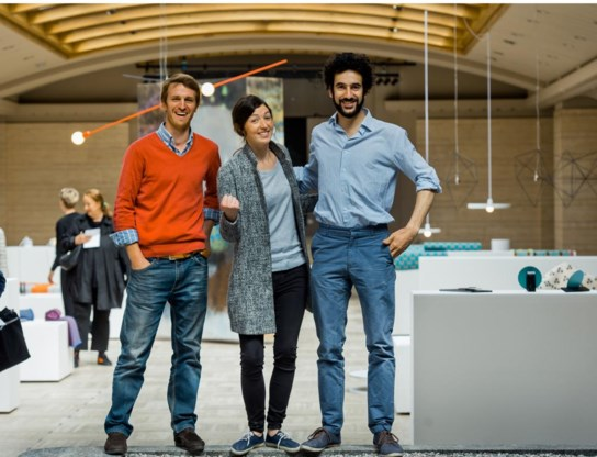 Louis-Dorsan van Caloen, Adeline d'Ursel en Leopoldo Profili van Nationa(a)l Pop-up Store.