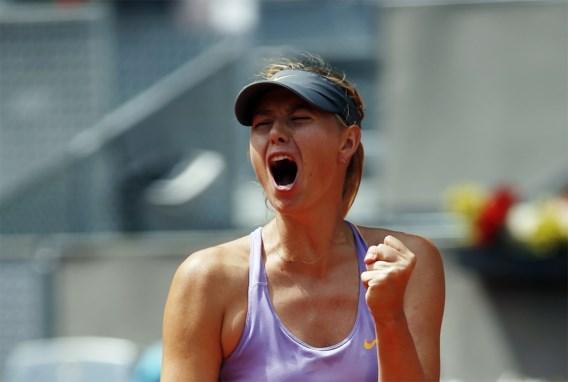 Sharapova en Halep in finale WTA Madrid