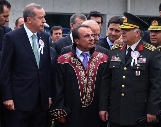 Turkse premier Erdogan verlaat plechtigheid na kritiek