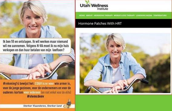 'Arme' CD&V-vrouw maakt wellnessreclame