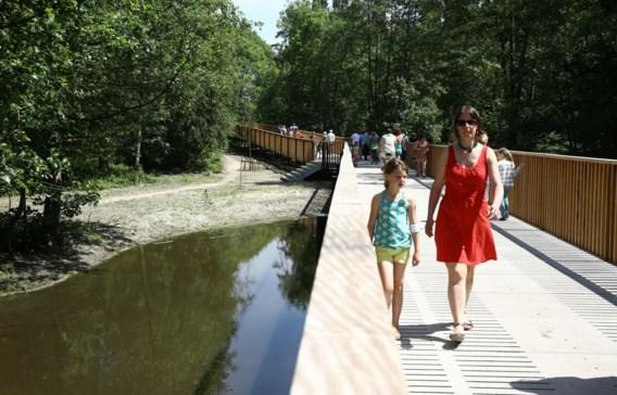 De groenpool van de Gentbrugse meersen werd gisteren geopend.