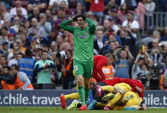 Thibaut Courtois is niet alleen kampioen van Spanje met Atlético, hij is ook opnieuw de minst gepasseerde doelman.