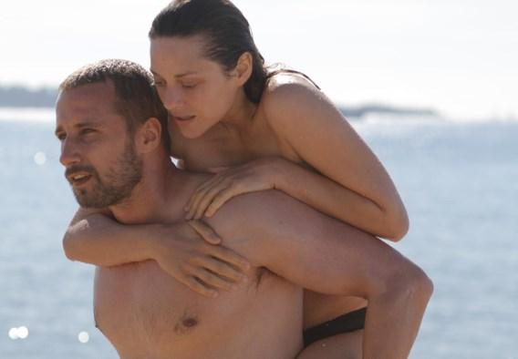 Matthias Schoenaerts en Marion Cotillard in 'De rouille et d'os'.
