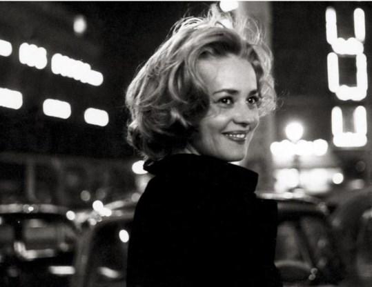 Jeanne Moureau in 'Ascenseur pour l'échafaud' uit 1957. Hoe zou het leven zijn zonder de muziek die Miles Davis schreef voor deze film?