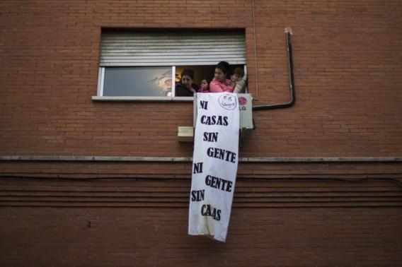 Spaanse banken namen vorig jaar bijna 50.000 woningen in beslag