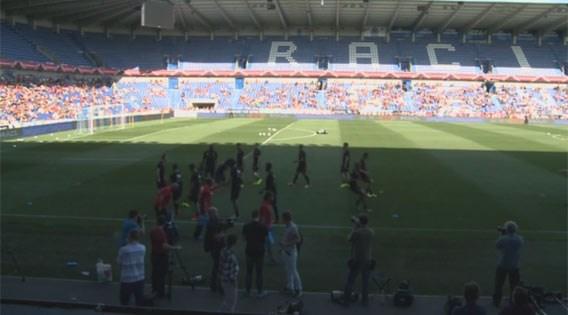 LIVE. Volg open WK-training van de Rode Duivels