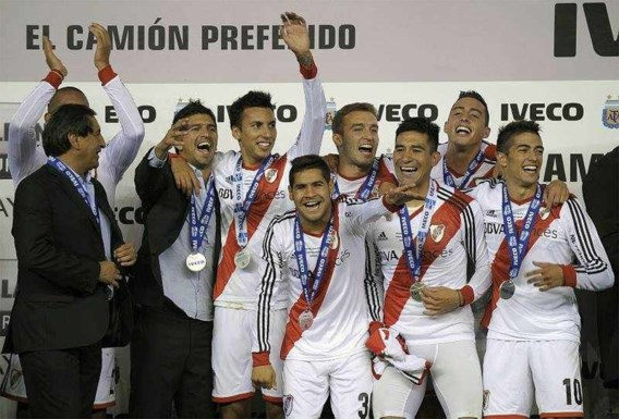 River Plate pakt 35e landstitel in Argentinië