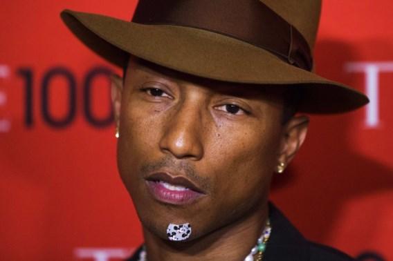 Pharrell komt naar Sportpaleis