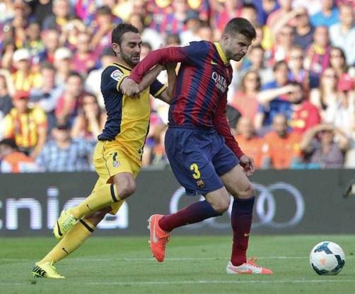 Gerard Piqué verlengt contract bij Barcelona tot 2019