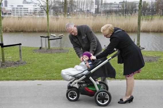 Babysitten houdt oma scherp