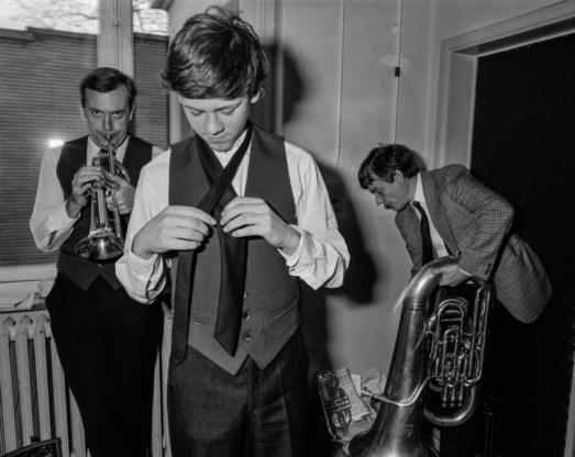 Carl De Keyzer, 'Brass band contest', Brussel, 1985.