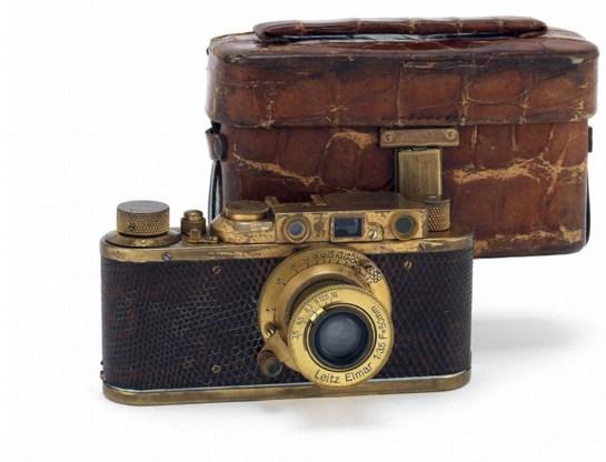 Kostbaar kleinood: een Leica Luxus II uit 1932.