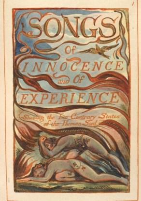 Werk van William Blake.
