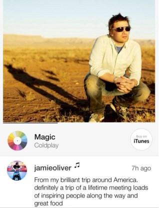 Jamie Oliver vindt het magisch.