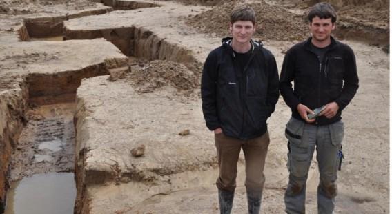 'De loopgraven zijn uitzonderlijk goed bewaard', zeggen archeologen.
