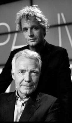 Jeroen Pauw en Paul Witteman: nachtbrakers.