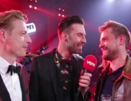 De eerste reactie van Tom na zijn overwinning van The Voice