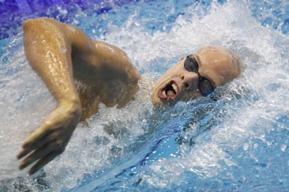 Glenn Surgeloose heeft zwemtrainingen hervat