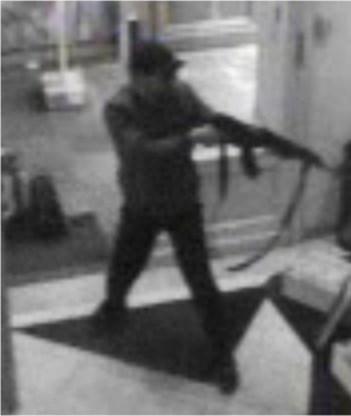 De dader van de moordende aanslag gebruikte een uitklapbare kalasjnikov.