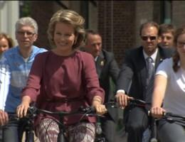 Mathilde fietst mee tegen kanker