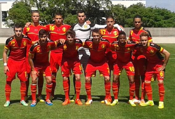 Jonge Duivels winnen met 4-2 van Griekenland