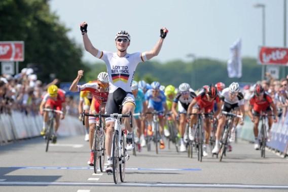 Eindelijk prijs voor André Greipel in Ronde van België