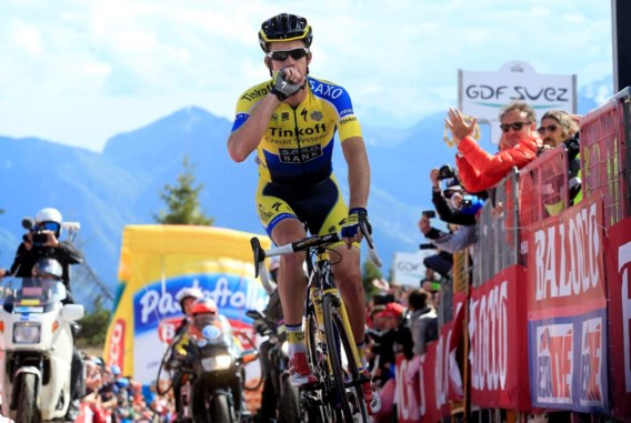 Rogers triomfeert bovenop de 'zwaarste berg van Europa', Quintana wint de Giro