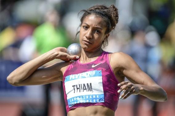 Nafissatou Thiam derde na eerste dag, Thomas Van Der Plaetsen zevende