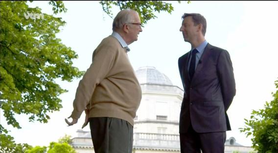 VTM-journalist Barend Leyts op bezoek bij de gepensioneerde koning: 'Albert ziet deze twee interviews als een laatste getuigenis.'