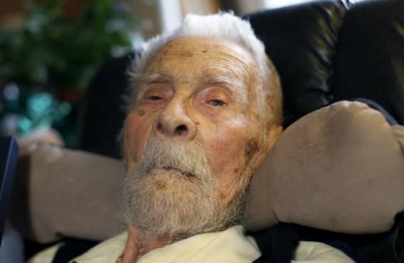 Oudste man ter wereld overleden op 111-jarige leeftijd