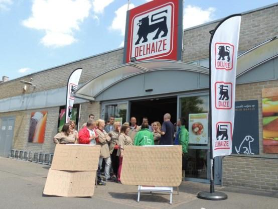 Vakbonden Delhaize zullen spontane acties blijven erkennen