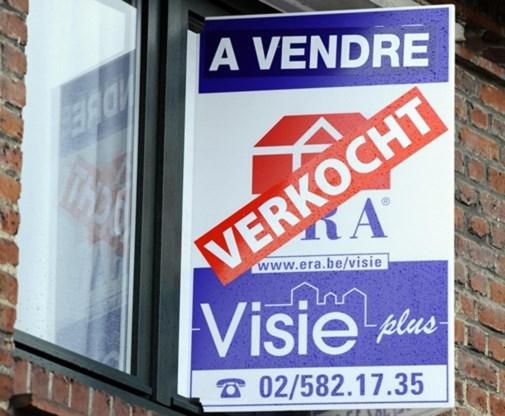 Huizen ook in België te duur