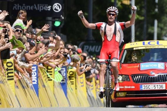 Trofimov wint in Dauphiné, Bakelants strandt op ereplaats