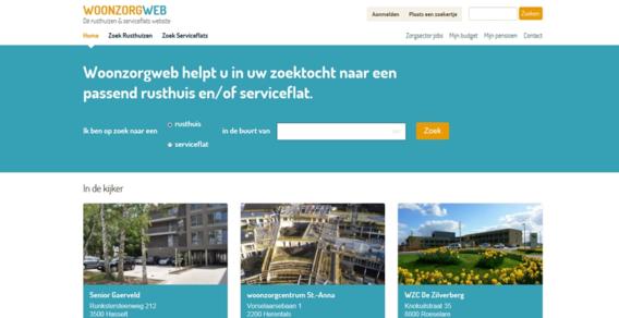 Nieuwe website bundelt alle serviceflats en rusthuizen in Vlaanderen