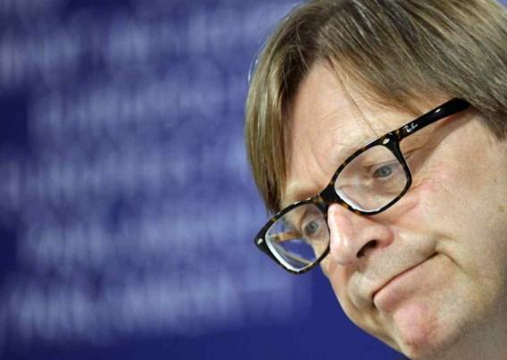 Verhofstadt: 'Niet goed voor Europese zaak'