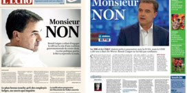 Franstalige kranten over 'Monsieur NON'