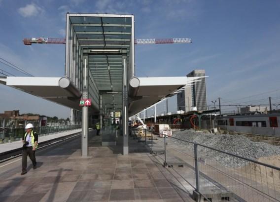 Het station zal nog jaren een werf zijn.