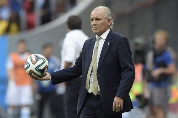 Bondscoach Argentinië: 'Uitstekende wedstrijd gespeeld'