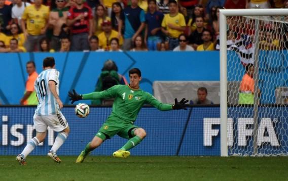 Courtois: 'Helaas was redding op Messi niet voldoende'