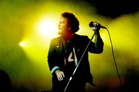 Pearl Jam sluit af met drie uur durend concert