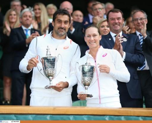 Zimonjic en Stosur winnen dubbel gemengd op Wimbledon