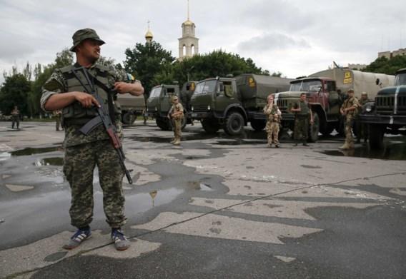 Oekraïens regeringsleger rukt op naar Donetsk