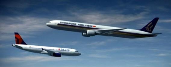 Vliegtuigbotsing boven Houston nipt vermeden
