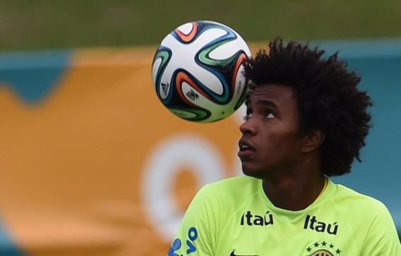 Willian: 'Wij putten kracht uit blessure Neymar'
