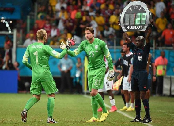 Doelmanwissel bezorgt Nederland halve finale