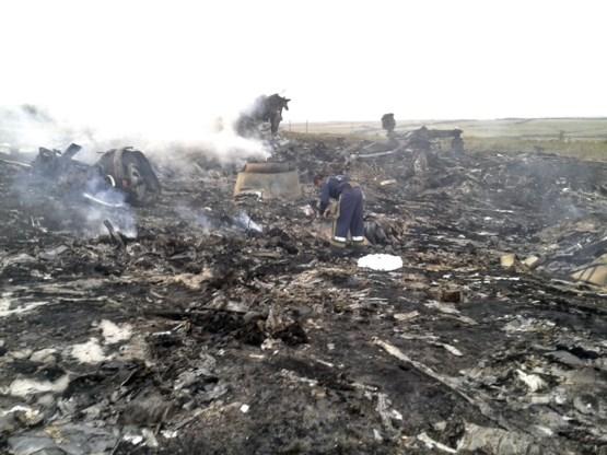Separatisten: 'We hebben net een Antonov neergehaald'