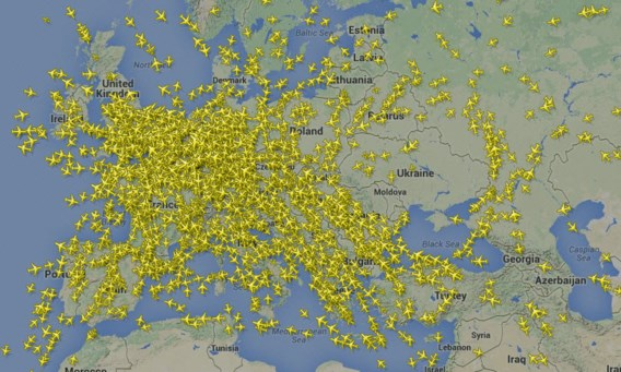Malaysia Airlines wilde hoger vliegen